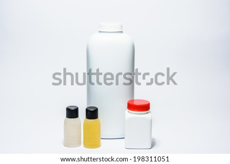 Collection of bottles products