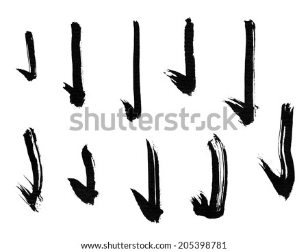 Calligraphy Brush Stock Photos Images Pictures