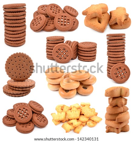 collection of cookies