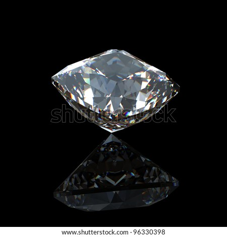 Collection of  diamond.  Background with  gemstone