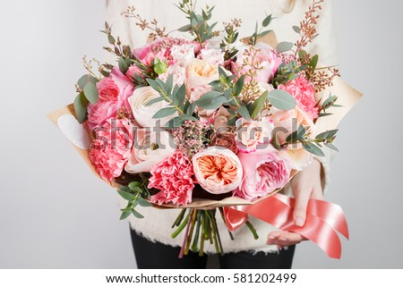 pink roses white box fashion details stock photo 412938292 shutterstock. Black Bedroom Furniture Sets. Home Design Ideas