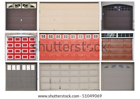 Collection of garage doors