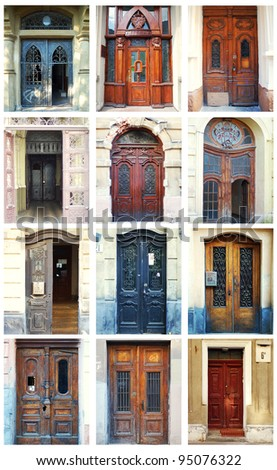 Collection Of House Front Doors From Around The World