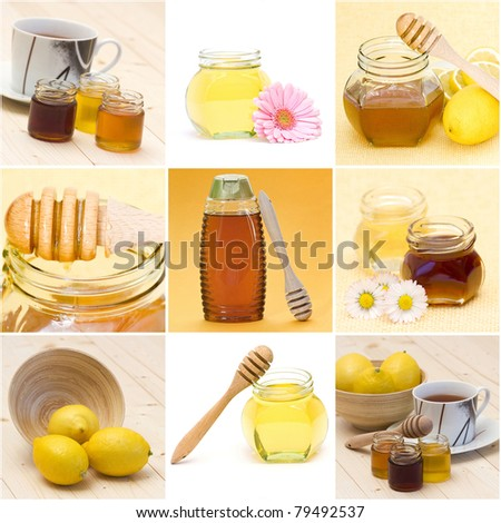 "collection of images on the theme of ""honey"""