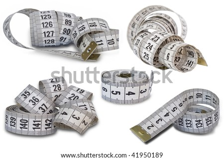 collection of measuring tapes