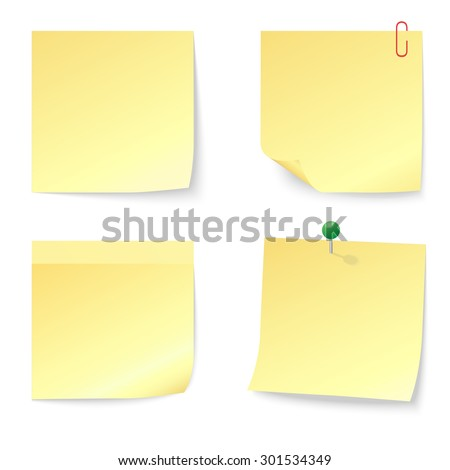 Collection of red discount stickers - stock photo