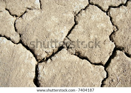 Collection of the textures (Cracked ground)