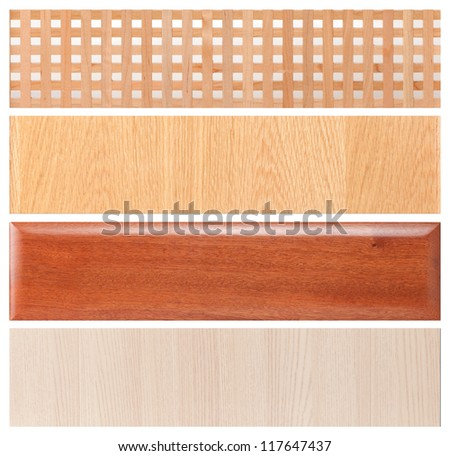 Collection of wood texture background