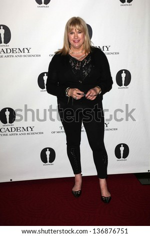 """Colleen Camp at the Academy Of Motion Picture Arts And Sciences Hosts A """"Wayne's World"""" Reunion,  AMPAS Samuel Goldwyn Theater, Beverly Hills, CA 04-23-13 - stock photo"""