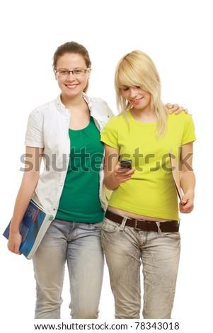 College girls - stock photo