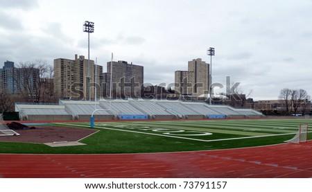 College Stadium in upper manhattan - stock photo