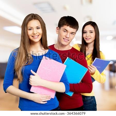College Student. - stock photo