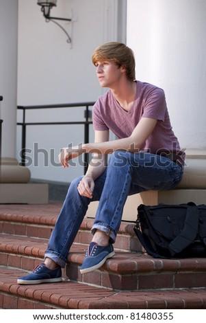 College Student - stock photo