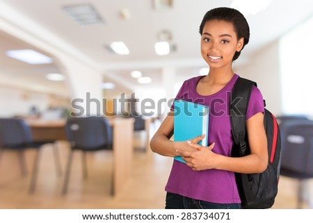 College Student, Student, Teenager. - stock photo