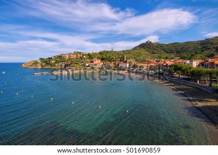 Collioure, Languedoc-Roussillon in France