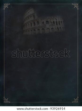 Collosseum atnight, Rome, Italy - stock photo