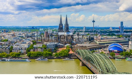Cologne - stock photo