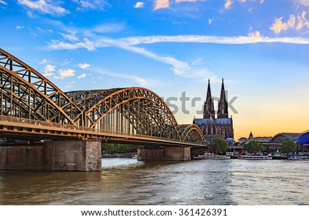 Cologne Cathedral, Cologne, Germany - stock photo
