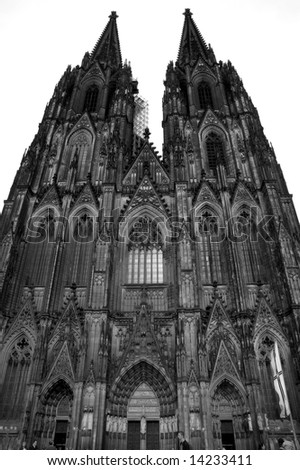 Cologne cathedral in Germany (Koln) - stock photo
