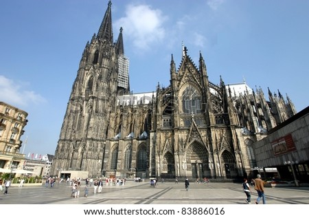 Cologne, Germany, the Dome - stock photo