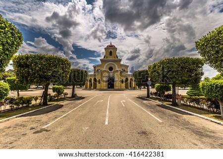 Colon Cemetery, Havana, Cuba - stock photo