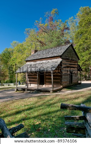 Colonial Cabin in Great Smoky Mountain National Park
