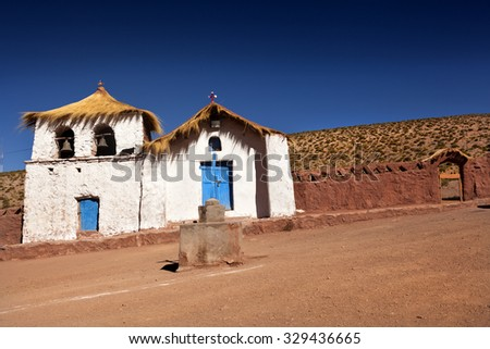 Colonial Church. North of Chile