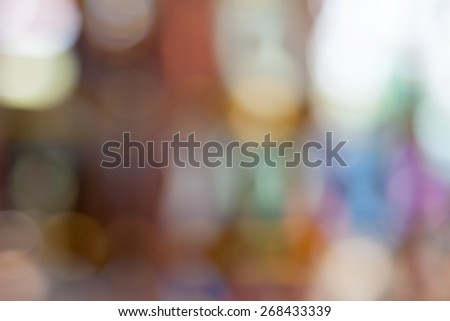 Color Abstract Blurred backgrounds  - stock photo