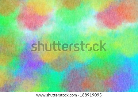 Color abstract brush background - stock photo