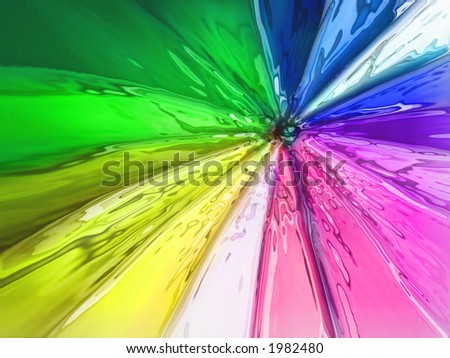 color abstraction - stock photo