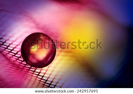 color abstraction with marble - stock photo