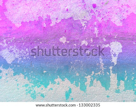 Color Background Cement Surface - stock photo