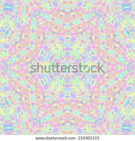 Color background with abstract concentric pattern - stock photo