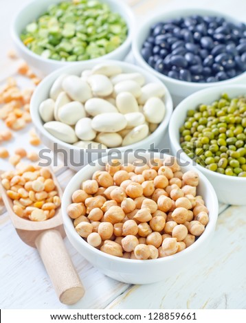 color beans - stock photo