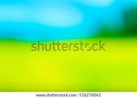 Color blurry background. Defocused abstract background useful as wallpaper or copyspace.
