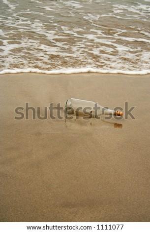 color bottle - stock photo