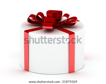 Color boxes with gifts and tapes
