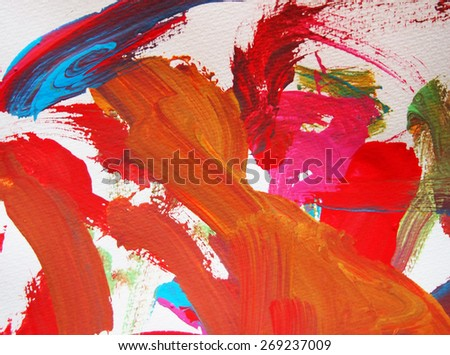 color brush water painting backgrounds