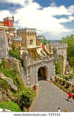 Color Castle - stock photo
