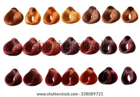 Color Chart Images RoyaltyFree Images Vectors – Sample Hair Color Chart