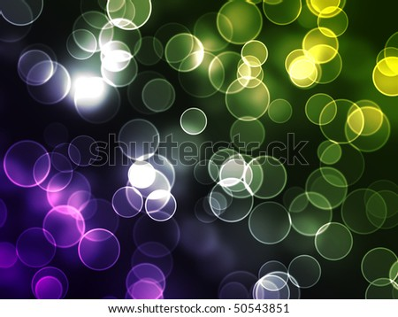 color dots - stock photo
