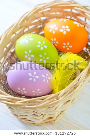 color eggs