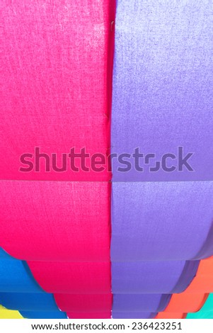 Color fabric - stock photo