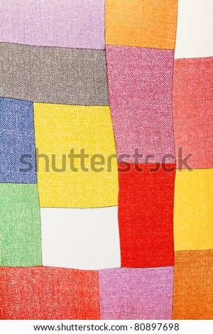 Color Fabric texture - stock photo