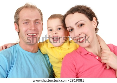 color family with boy 2