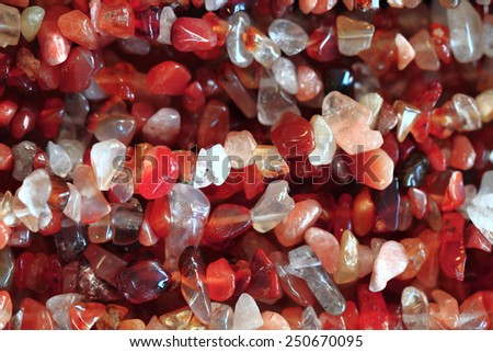 color gems background - stock photo