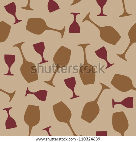 Color glasses seamless  illustration on  background - stock photo