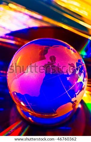 color glob - stock photo
