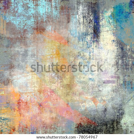 Color grunge background, scratched surface - stock photo