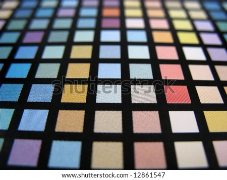 Color Guide - Horizontal - stock photo